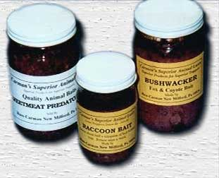 Carman's Sweetmeat Predator Bait  sweetm12